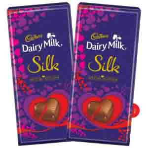 Cadbury Dairy Milk Silk Special Gift Pack 250g(pack Of 2)0