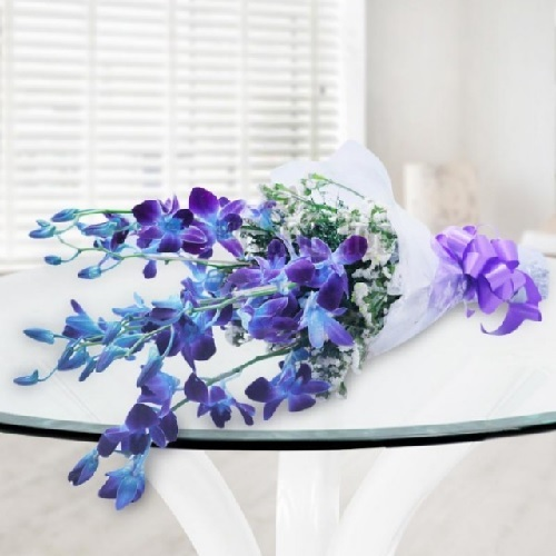 Bunch Of Blue Orchids4