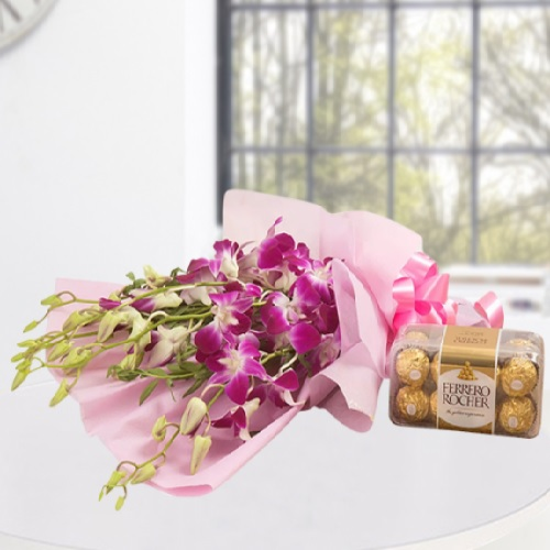 Orchid With Rocher2